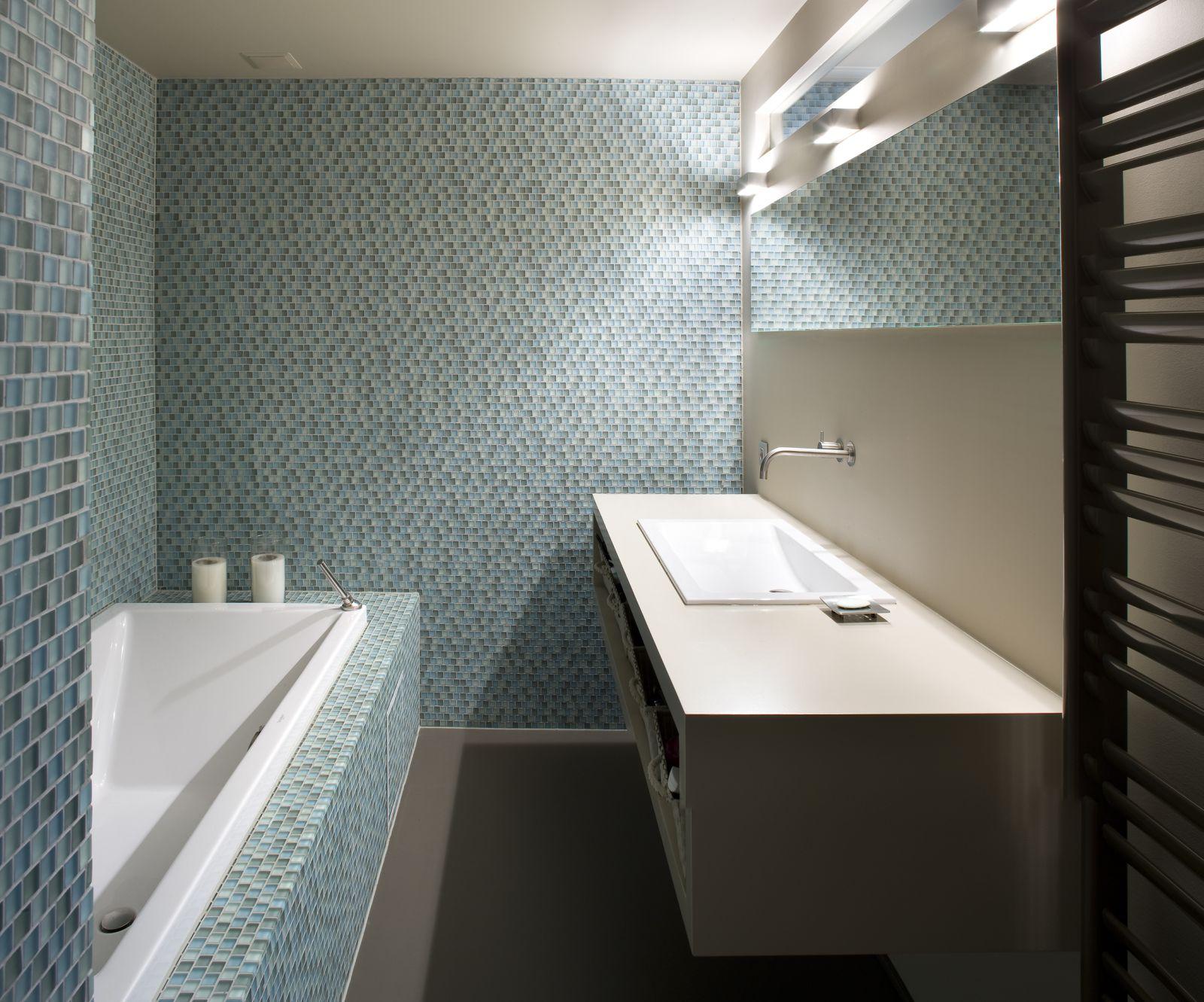 Kleurrijke stijl modern interieur vooruitzicht